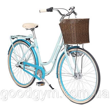 "Велосипед 28"" CROSS Picnic рама 19"" 2017 голубой, фото 2"