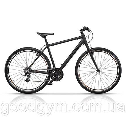 """Велосипед 28"""" CROSS UrbanAreal рама 19"""" 2017 черный, фото 2"""