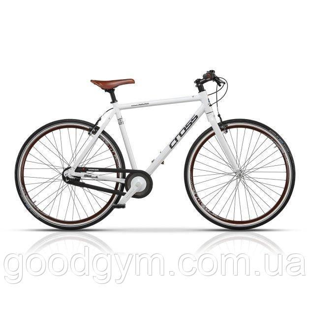 """Велосипед 28"""" CROSS Spria рама 19"""" 2017 белый"""