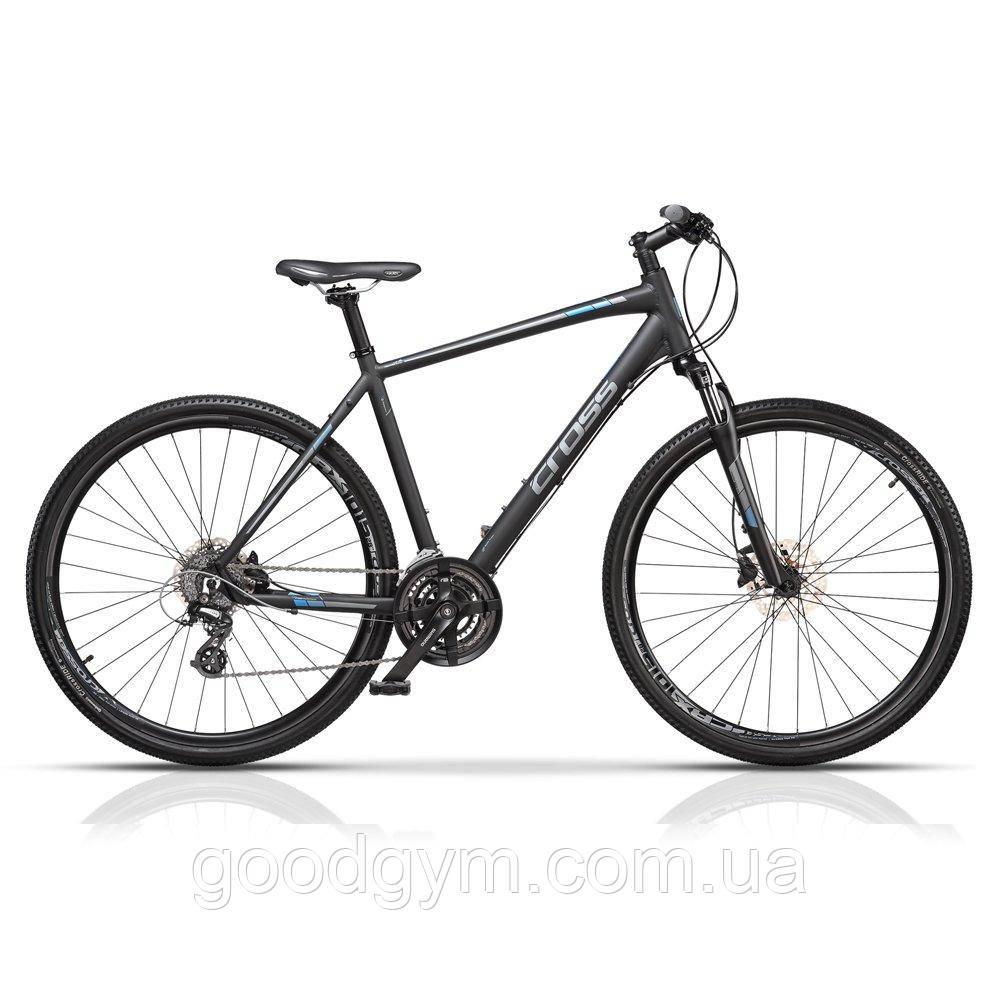 """Велосипед 28"""" CROSS Travel OffRoad рама 17"""" 2017 черный"""