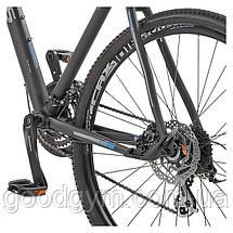 """Велосипед 28"""" CROSS Travel OffRoad рама 17"""" 2017 черный, фото 2"""