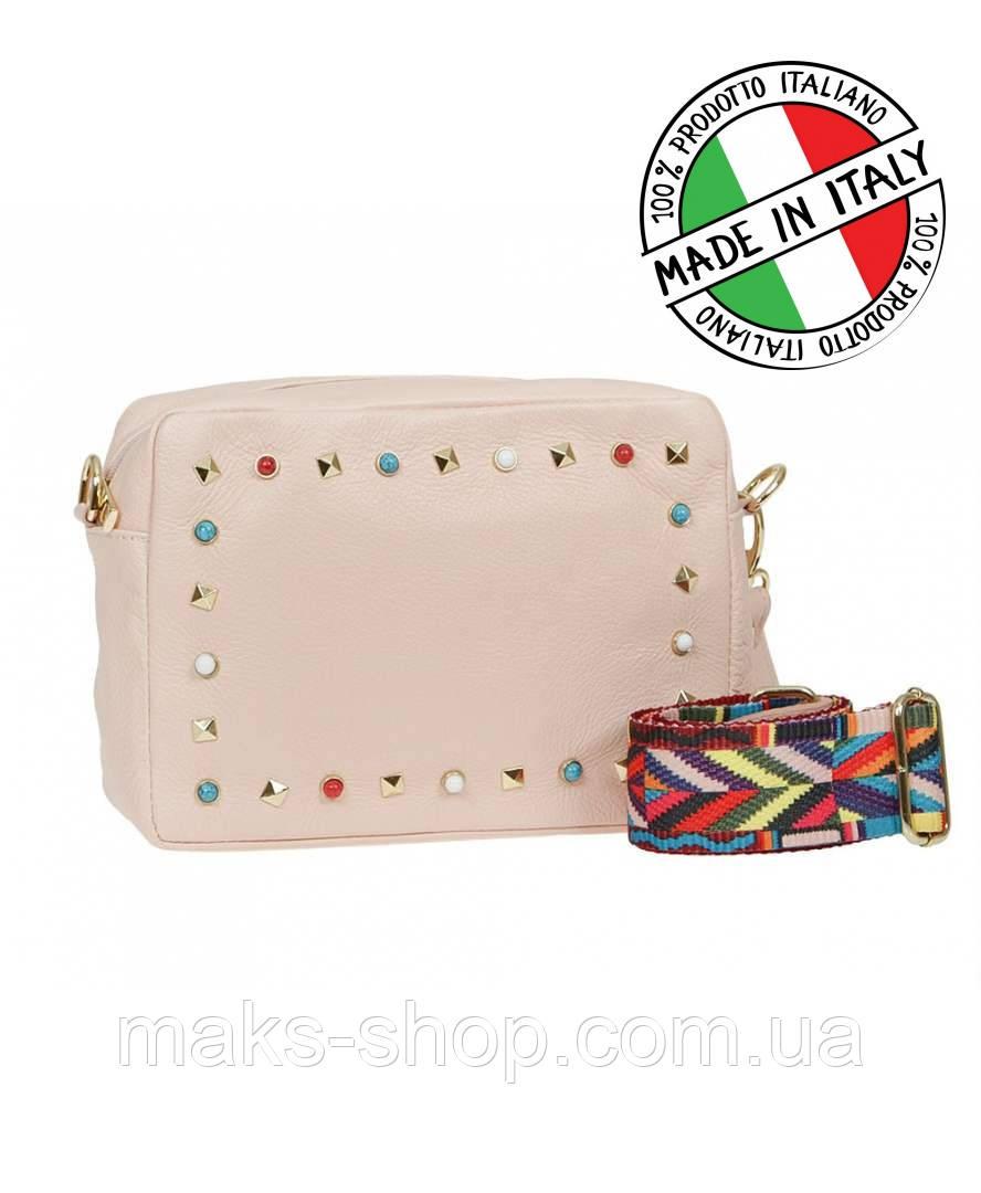 8978aca24f1c Женская кожаная сумка из Италии - Carla Berry - Maks Shop- надежный и перспективный  интернет