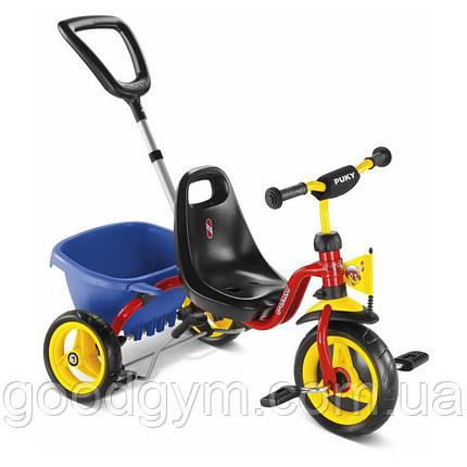 Трехколесный велосипед Puky 2363 CAT 1 L Capt'n Sharky Красный, фото 2