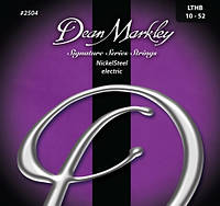 Струны для электрогитары Dean Markley 2504 Nickel Steel Electric LTHB (010-052)