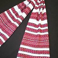 """Весільний тканий рушник з орнаментом """"Западенка"""" 145*33см"""