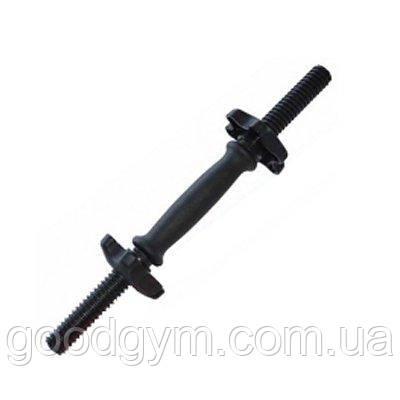 Ручка гантельная InterAtletika ST-570 с замками 25 мм, фото 2
