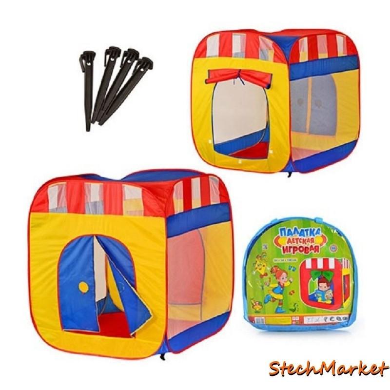 Детская игровая палатка M 0505 94х94х108см