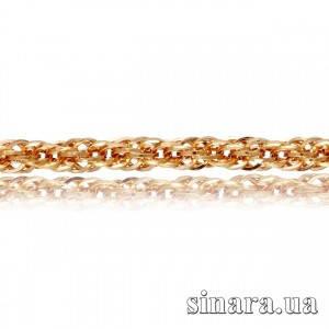 Золотая цепочка Веревка 1728