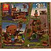 """Конструктор Minecraft """"В поисках сокровищ"""" Lele 33220 3 в 1 279 деталей, фото 2"""