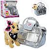 """Интерактивная игрушка """"Собачка Кикки"""" M 3483-N-UA 22 см в сумочке, фото 2"""