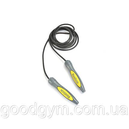 Скакалка Reebok Leather Skipping Rope RSRP-10080, фото 2