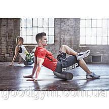 Пенный валик для йоги Reebok RSYG-16007 (удлиненный), фото 2