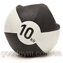 Медбол Reebok Double Grip Med Ball RSB-16130 - 10 кг, фото 2
