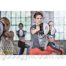Медбол Reebok Double Grip Med Ball RSB-16130 - 10 кг, фото 3