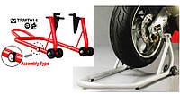 Подставка TRMT014 для скутеров и мотоциклов разборная для заднего колеса