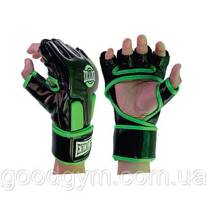 Перчатки MMA Excalibur 667 L зеленый/черный, фото 2