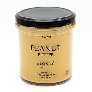 Кремовая арахисовая паста, 300г, нежная текстура, неповторимый вкус, 100% арахис, без добавок