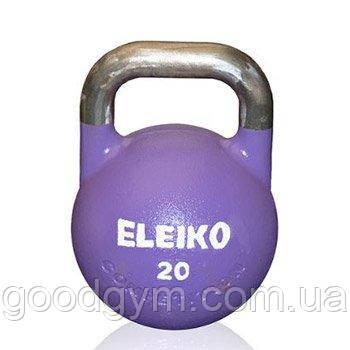 Гиря Eleiko для соревнований 20 кг стальная 383-0200, фото 2