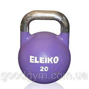 Гиря Eleiko для соревнований 20 кг стальная 383-0200