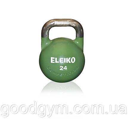 Гиря Eleiko для соревнований 24 кг стальная 383-0240, фото 2