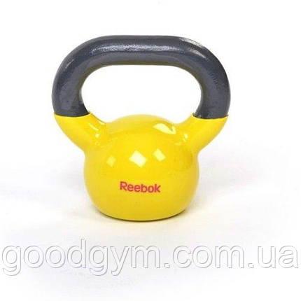 Виниловая гиря Reebok RAWT-18005YL 5 kg, фото 2