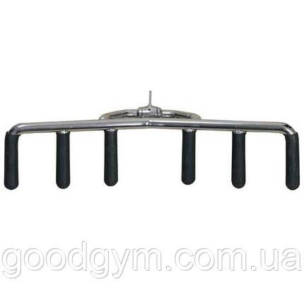 3-х позиционная ручка для тяги снизу InterAtletika E5-06-M вращающаяся, фото 2