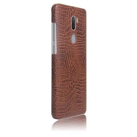Кожаный чехол-накладка с имитацией кожи крокодила для Xiaomi Mi 5s Plus, фото 2