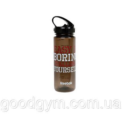 Бутылка для воды Reebok Easy RABT-P65BKEASYB 0,65 л, фото 2
