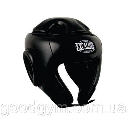 Шлем боксерский Excalibur 701 XL черный, фото 2