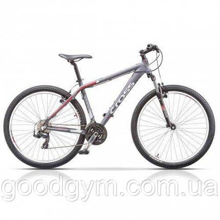 "Велосипед 26"" CROSS GRX 7 21 spd рама 20"" 2015 серый, фото 2"