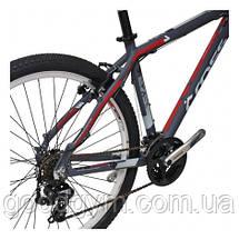 "Велосипед 26"" CROSS GRX 7 21 spd рама 20"" 2015 серый, фото 3"