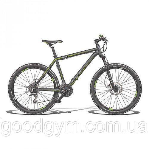 """Велосипед 26"""" CROSS Grip 24 spd рама 21"""" 2015 черный"""
