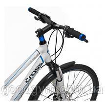 "Велосипед 28"" CROSS Travel Lady 27 spd рама 17"" 2015 белый, фото 3"