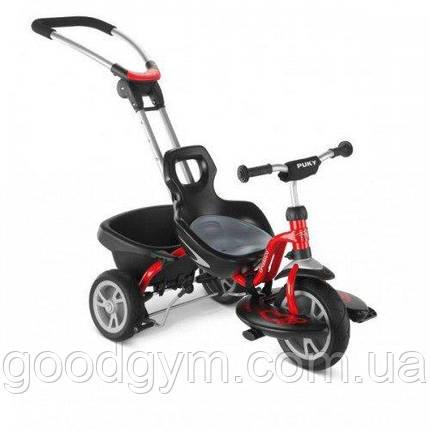 Велосипед PUKY Cat s2 Черный/Красный, фото 2