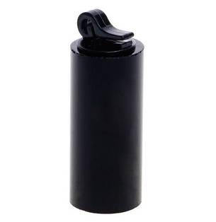 Подставки для колец (7шт в наборе) акриловые держатели круглые черные, фото 2