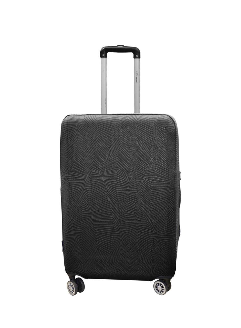 Чехол для чемодана Coverbag неопрен Strong M черный