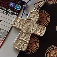 Серебряный крест 925 пробы  13.5 грамм