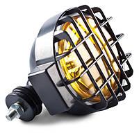 Фара противотуманная D=166 мм, галогеновая,стекло желтое комплект