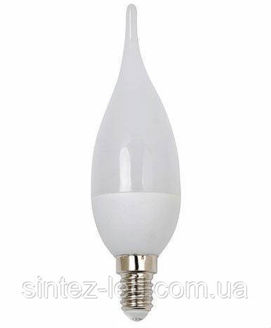 Светодиодная лампа Horoz 4370L 3.5W С37 Е14 3000K свеча на ветру Код.58298