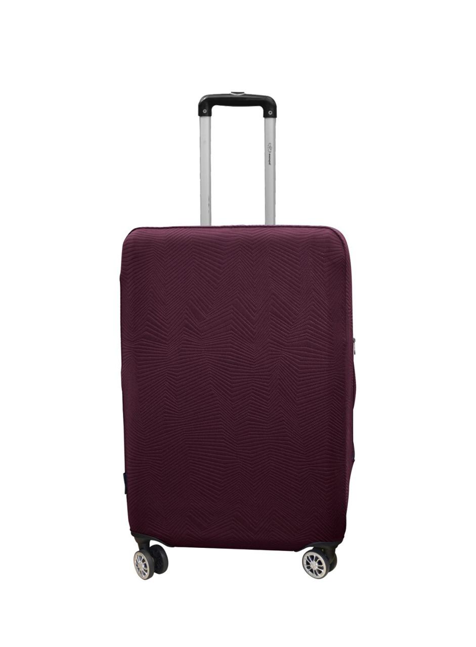 Чехол для чемодана Coverbag неопрен Strong M бургунди