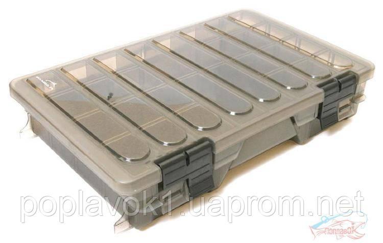 Коробка Flagman пластиковая 2-х полочная средняя