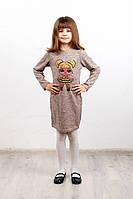Платье детское LOL золотая, фото 1