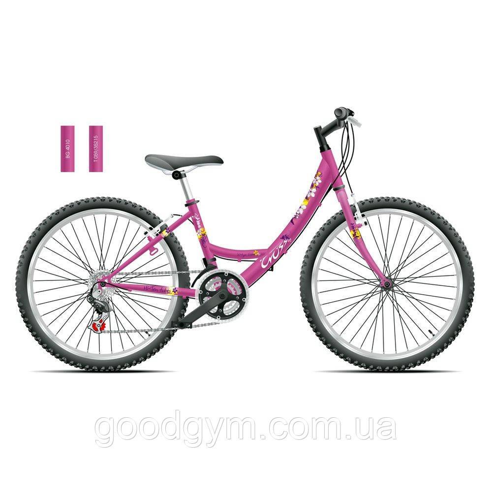 """Велосипед 24"""" CROSS Alissa рама 13"""" 2015 розовый"""