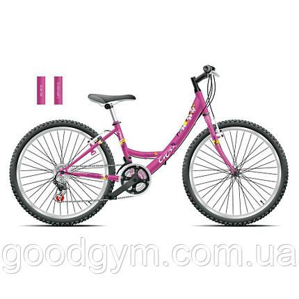 "Велосипед 24"" CROSS Alissa рама 13"" 2015 розовый, фото 2"