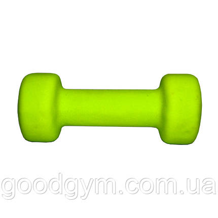 Гантель неопреновая Fitex MD2015-2N 2 кг, фото 2