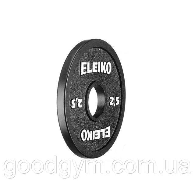 Диск Eleiko для соревнований по пауэрлифтингу 2,5 кг 3000236