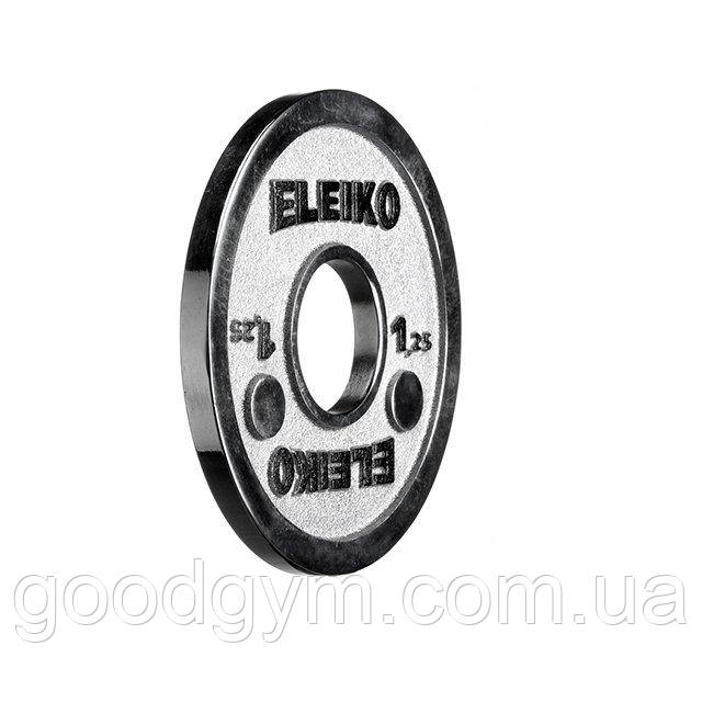 Диск Eleiko для соревнований по пауэрлифтингу 1,25 кг 3000237
