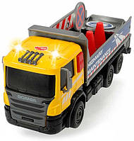 Грузовик для дорожных работ со светом и звуком, Dickie Toys (374 2008-3)