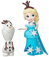 Эльза и Олаф, Холодное сердце, Маленькое королевство, Disney Frozen Hasbro (DB5186 (B5185-2))