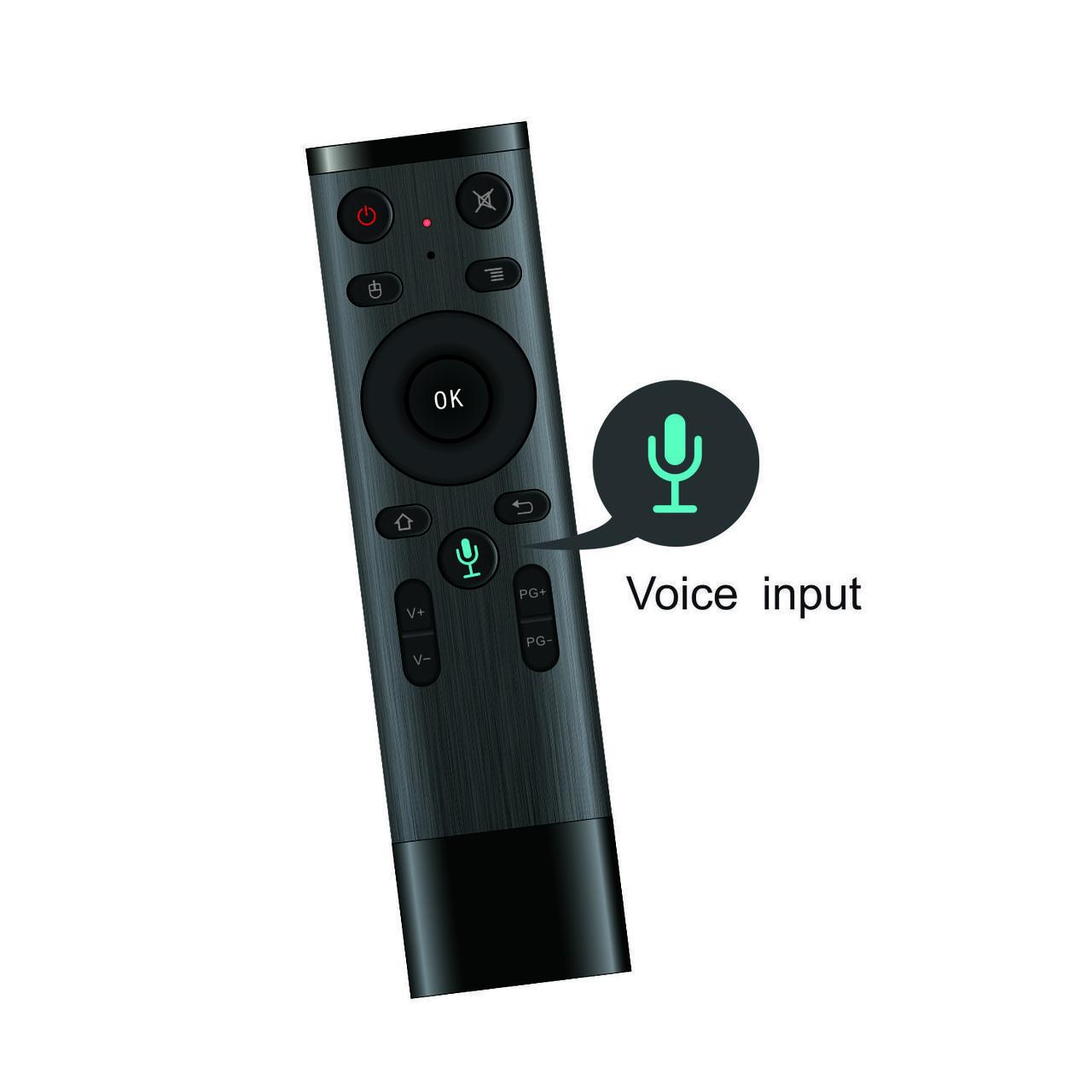 Пульт  управления Air mouse Q5 USB 2.4G (гироскоп + микрофон)